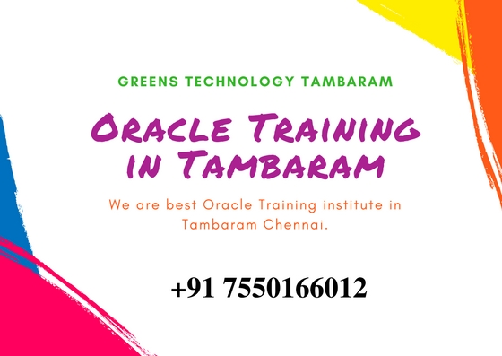 Oracle Training in Tambaram Chennai | Oracle Placement